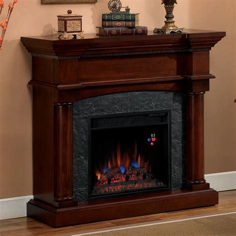 Stylish Electric Fireplaces by Stylish Electric Fireplace With Mantel All Home Decorations