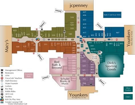 layout of meridian mall meridian mall directory shopping pinterest