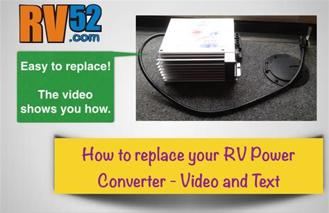service manual how to replace converter on a 1998 mitsubishi mirage walker 174 mitsubishi replacing an rv power converter easy to follow steps in video text pictures