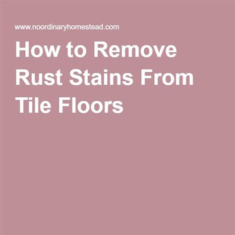 how to remove rust stains from bathtub the 25 best remove rust stains ideas on pinterest