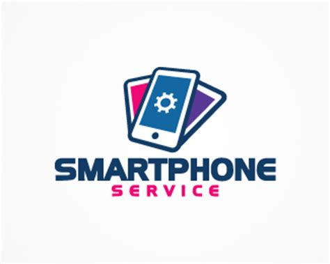 design a logo on your phone smartphone service designed by oszkar brandcrowd