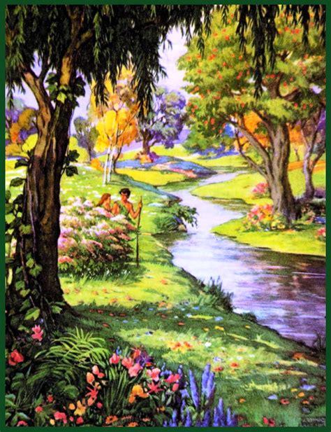 garden  eden genesis    walking  yeshua