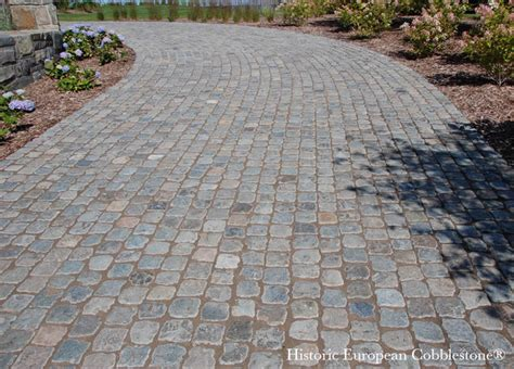 Cobblestone Patio Pavers Cobblestone Driveway Bay Harbor Michigan Traditional Exterior Other Metro By Monarch