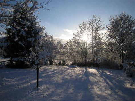 Garten Im Winter by Ferienwohnung Haus Gabriele Eifel Aachen Familie