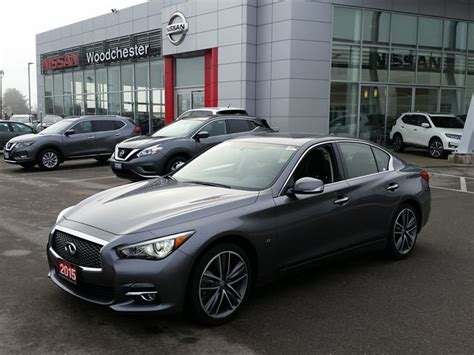 nissan infiniti 2015 2015 infiniti q50 sport grey woodchester nissan and