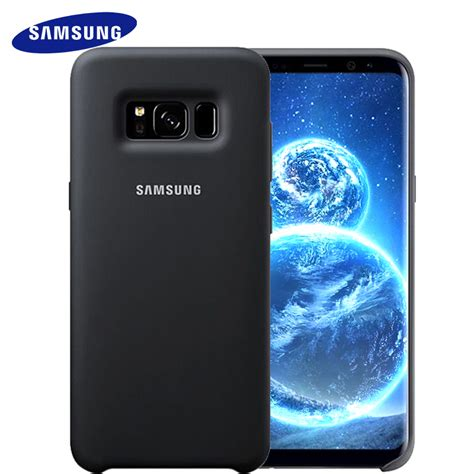 Samsung Galaxy S8 Plus Ory Casing Cover Anti 7 samsung s8 s8 plus cover for s8 g9550 9500 silicone protective cover soft anti wear wear