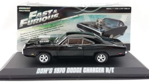 Greenlight 1 43 Dodge Charger The Fast And The Furius 2001 Promo Greenlight 1 43 Fast Furious 1970 Dodge Charger The