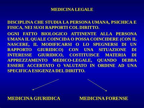 dispense medicina legale medicina legale cenni storici docsity