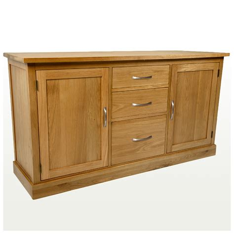 Large Oak Sideboard Uk 50 solid oak sideboard large glenmore