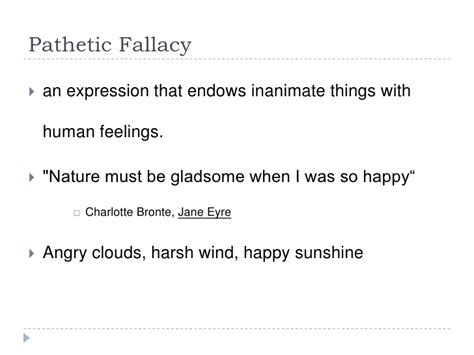 Pathetic Fallacy Quotes In Jane Eyre