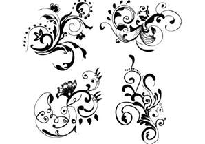 free vector floral doodle floral free vector images free