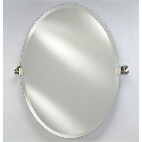 bathroom mirror brackets oval radiance bathroom mirrors by afina with or without