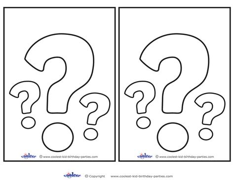 free printable question mark coloring book question mark question mark colouring pages