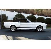 1968 FORD MUSTANG CONVERTIBLE ELEANOR RE CREATION  Side Pro