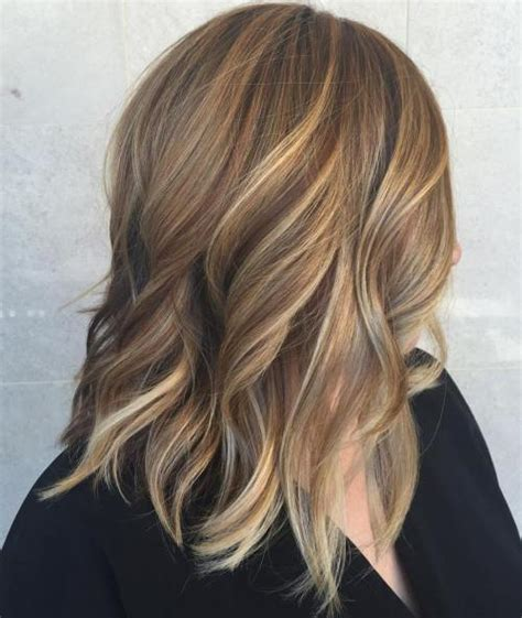 Medium Length Hairstyles With Highlights by 40 Of The Best Bronde Hair Options