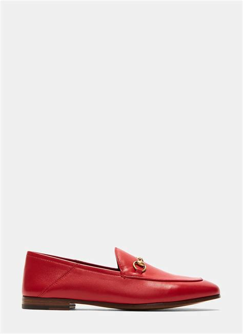 womens gucci loafers sale gucci s jordaan classic leather slip on loafers in