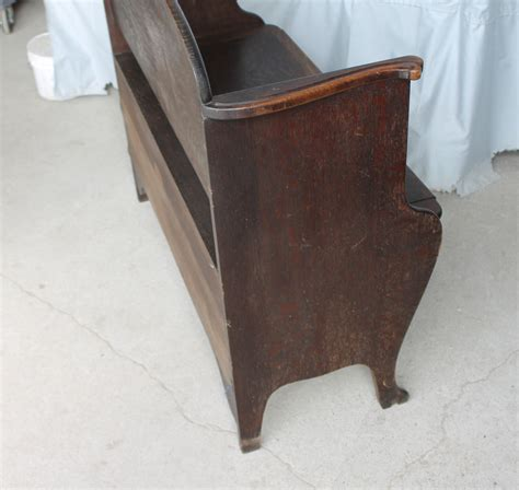 hinged bench bargain john s antiques 187 blog archive antique oak bench