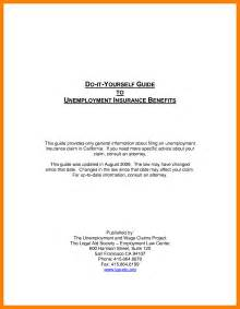 Proof Of Unemployment Letter Template by 10 Proof Of Unemployment Letter Template Resumed