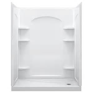 Shower kit common 30 in x 60 in actual 76 5 in x 31 25 in x 60 25 in