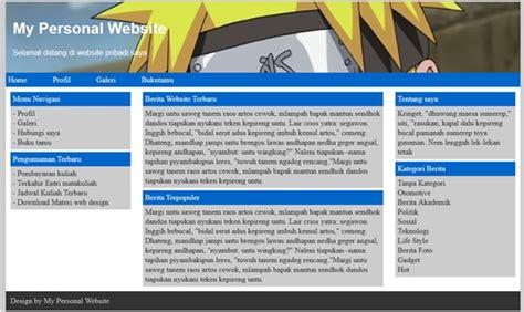 cara membuat web sederhana menggunakan dreamweaver tutorial membuat desain web dengan dream weaver cs6