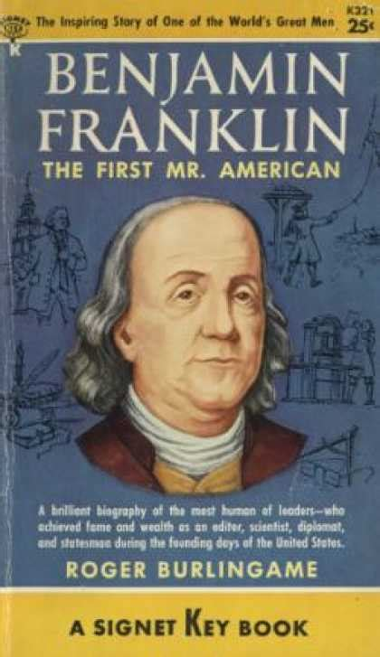 benjamin franklin an american 0684807610 signet book covers 1050 1099