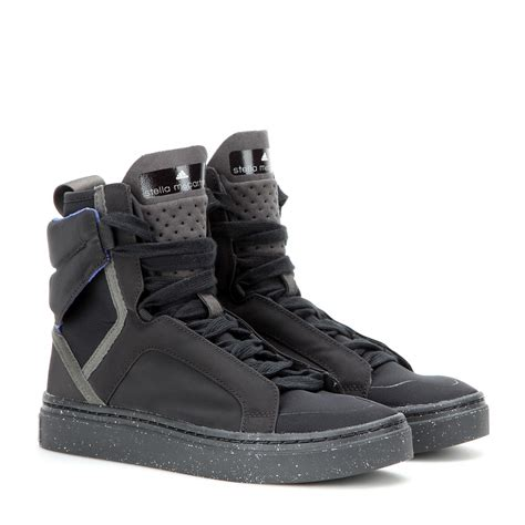 high top adidas sneakers lyst adidas by stella mccartney asimina high top