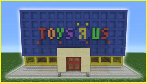 minecraft tutorial how to make a toys r us