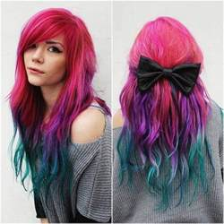 colored hair dye 25 best ideas about permanent hair dye on
