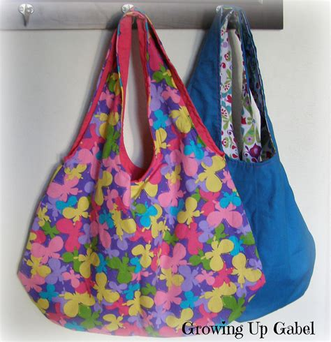 Pretty Purses To Peruse by Handmade Gifts Easy Reversible Handbag