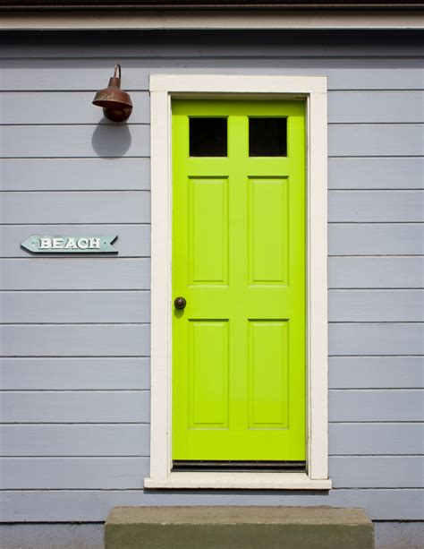 lime green door 6 striking color palette combinations for front doors