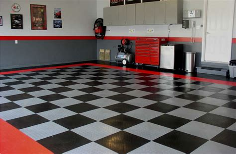 Diamond Grid Loc Tiles   Garage <a  href=