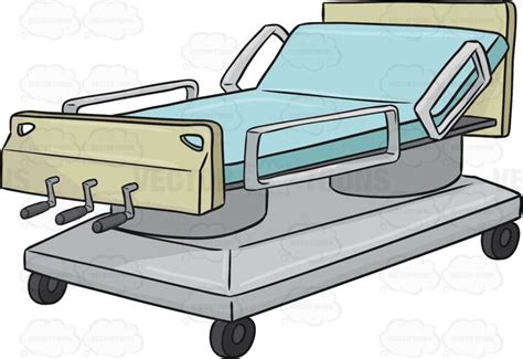 free hospital beds hospital bed 1 clipart