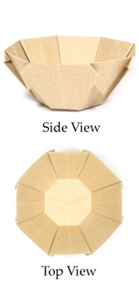 How To Fold A Paper Bowl - how to make origami bowl