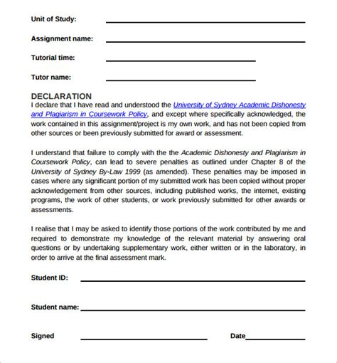 sle project cover page template 9 free documents in