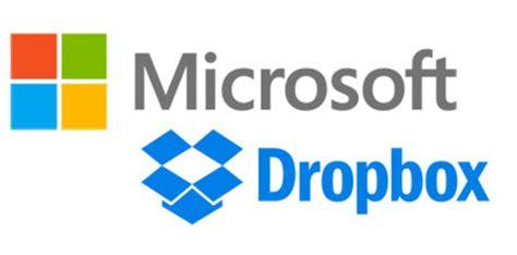 dropbox microsoft 187 microsoft announces strategic partnership with dropbox