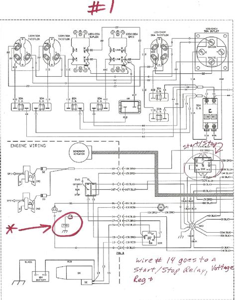 diagram generator generac engine wiring schematic wiring diagram with