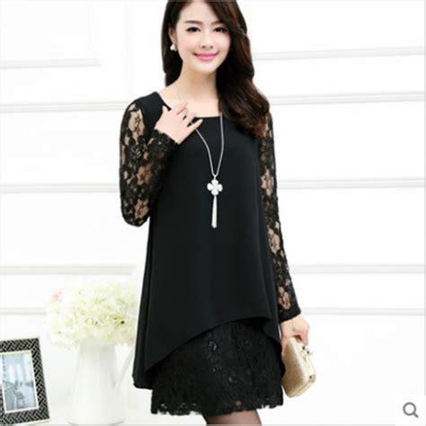 shiffon hairstyle korean style chiffon dress images 2016 new spring women dress chiffon female dress korean
