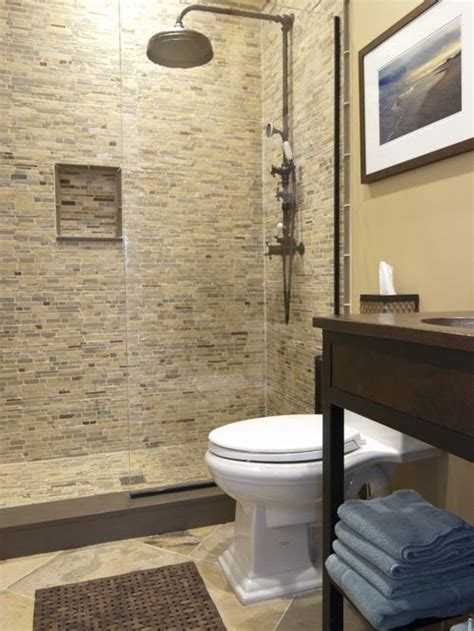 Houzz Small Bathroom Ideas Matching Floor And Wall Tile Ideas Pictures Remodel And Decor