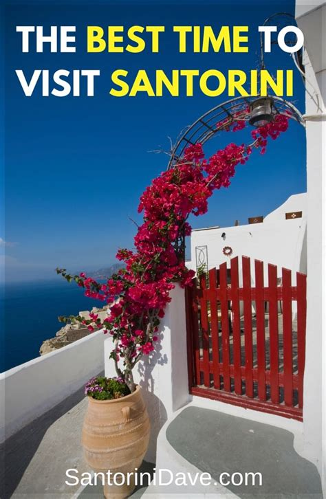 What Is The Best Length To Do A Detox by Best Time Of Year To Visit Santorini The 2017 Guide