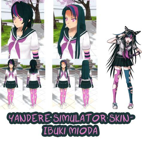 Custom Anime Kesing Hp Obito003 yandere simulator ibuki mioda skin by imaginaryalchemist