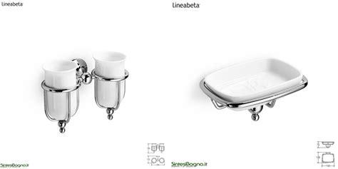 accessori bagno lineabeta accessori bagno ad incollo arredobagno news