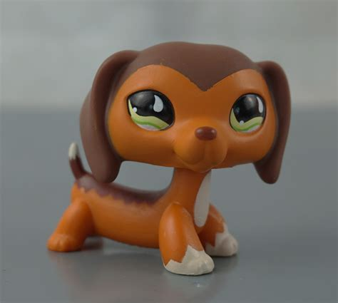 lps dogs for sale littlest pet shop lps 675 toys brown savanah dachshund green ebay