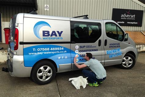 design vans uk design printing and fitting of vehicle graphics for bay