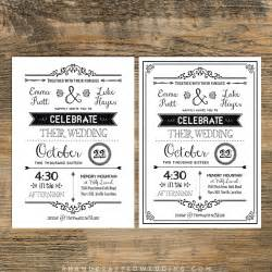 diy printable wedding invitations templates diy wedding invitations templates theruntime