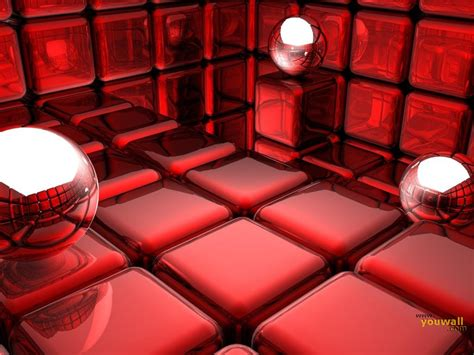 wallpaper 3d red red 3d wallpaper wallpapersafari