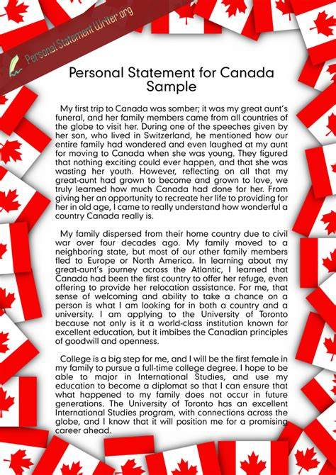 Mba Admission Requirements Uoft by Canada Personal Statement Writing