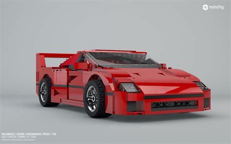 lego f40 f40 10248 lego creator lego 3d review