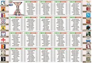 Calendario Serie A 2017 18 Calendario Calcio Serie A 2017 2018 Medienfriz