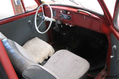 volkswagen cer inside my 1965 1200 a vw beetle restoration classiccult