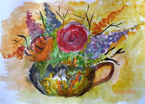 art dinca beautiful aquarelle painting by farfallina art gabriela